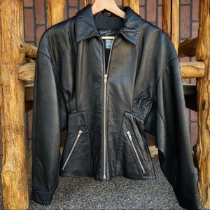 NORTH BEACH LEATHER Vintage Leather Jacket SO SOFT